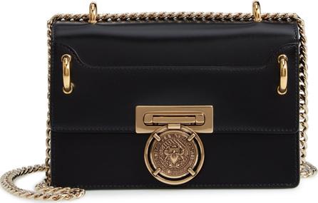 Balmain Glace Leather Medium Box Bag
