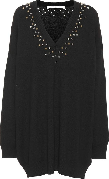 Givenchy Embellished wool and cashmere dress