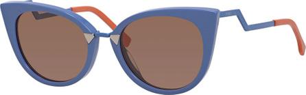 Fendi Runway Cat-Eye Sunglasses