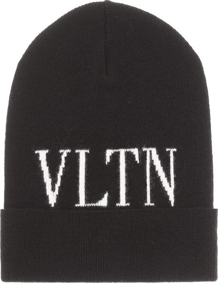 Valentino Wool and cashmere-blend beanie