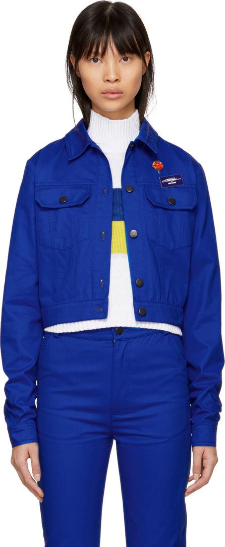 Anton Belinskiy Blue Twill Jacket
