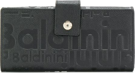 Baldinini Logo embossed wallet