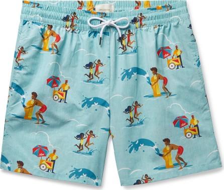 Aimé Leon Dore Block Party Printed Swim Shorts