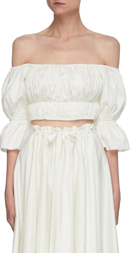 Cult Gaia Medea off shoulder crop top