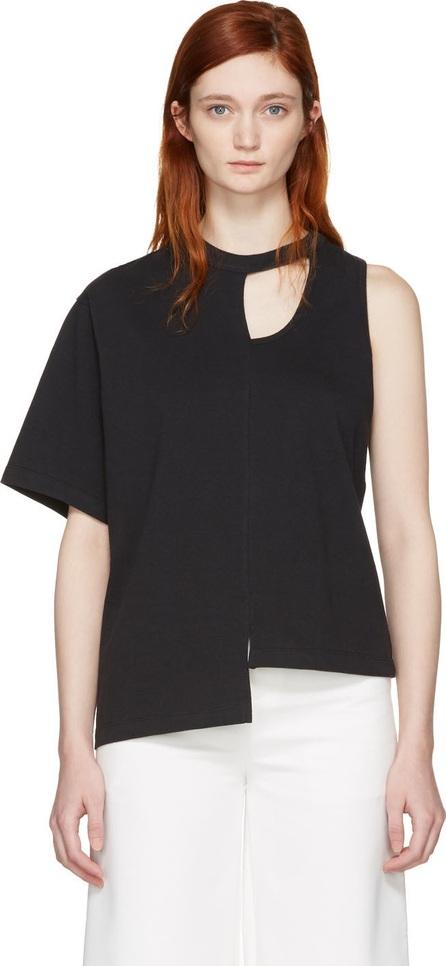 FACETASM Black Asymmetry T-Shirt