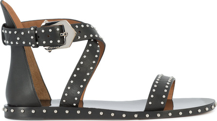 Givenchy Elegant studded black sandals