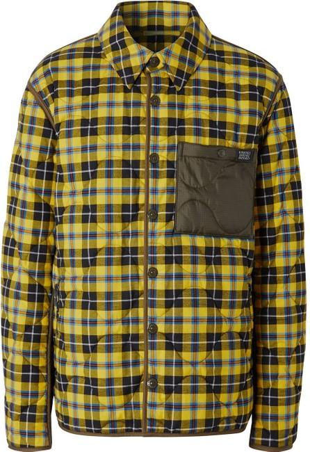 Burberry London England Check buttoned shirt jacket