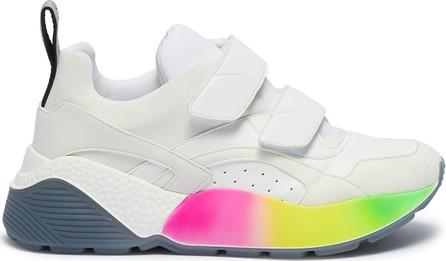 Stella McCartney 'Eclypse' colourblock chunky outsole faux leather sneakers
