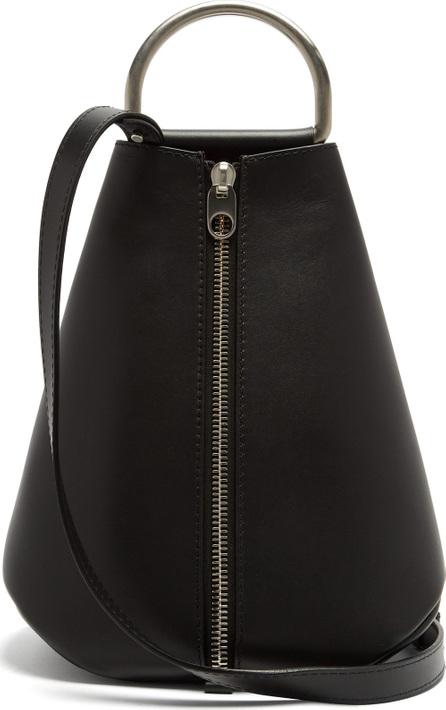 Proenza Schouler Vertical-zip leather backpack