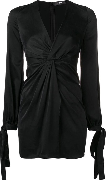 Amiri V-neck mini dress