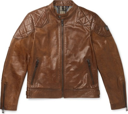 Belstaff Outlaw Leather Biker Jacket
