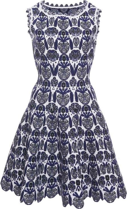 Azzedine Alaia Scallop Floral Dress