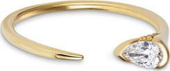 Fernando Jorge Sprout' diamond 18k gold ring