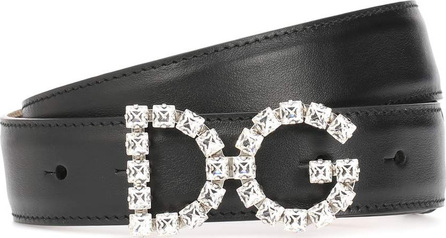 Dolce & Gabbana DG Logo leather belt