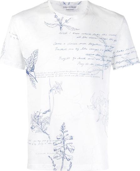 Alexander McQueen Explorer print T-shirt