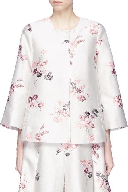 Co Floral jacquard jacket