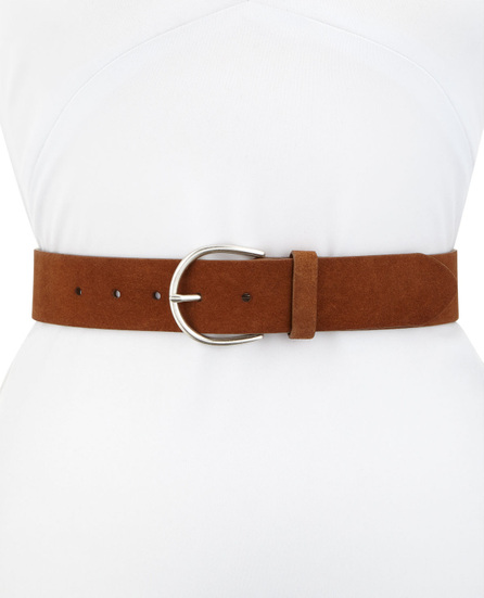 FRAME DENIM U Buckle Leather Belt
