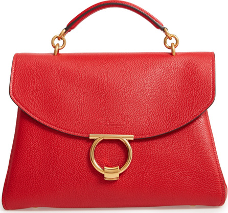 Salvatore Ferragamo Flap Shoulder Bag