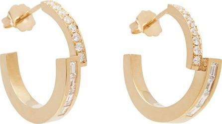 Azlee Diamond & 18kt gold earrings