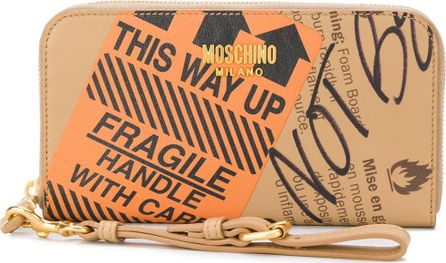 Moschino Parcel long continental wallet