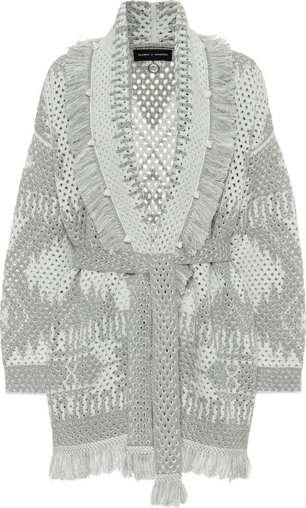 Alanui Exclusive to Mytheresa – Icon wool and linen-blend cardigan