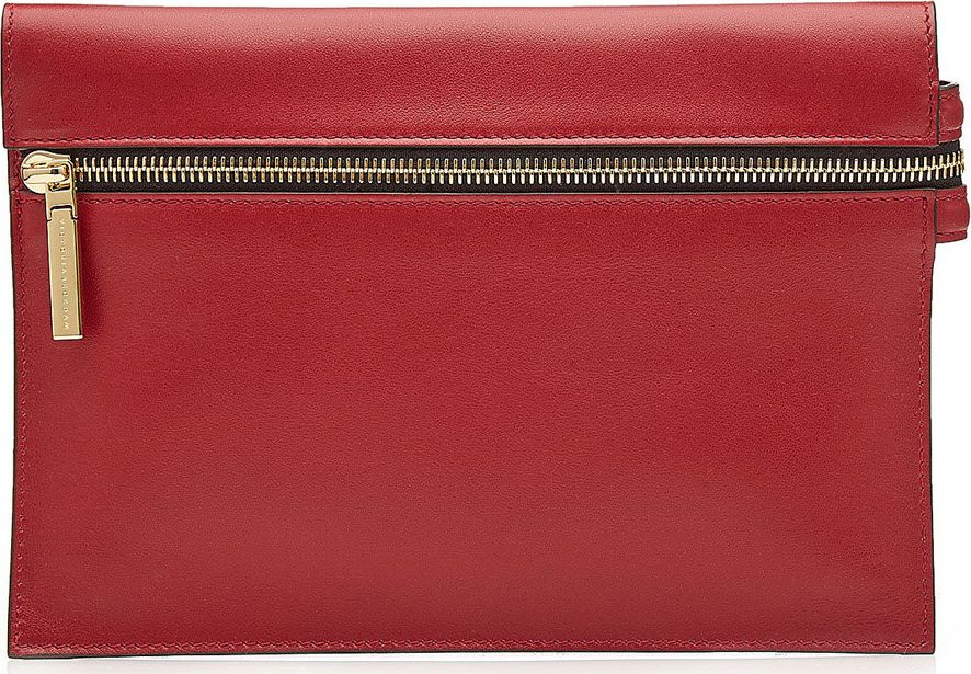 Victoria Beckham - Mini Zipped Leather Clutch