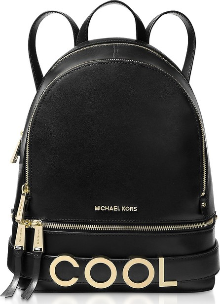 c85473c237 Michael Kors Jessa Small Pebbled Leather Convertible Backpack - Mkt