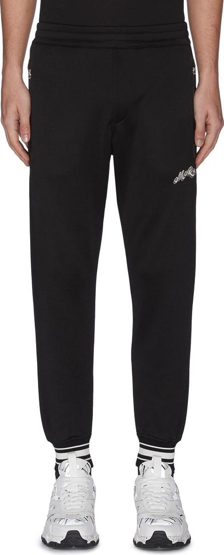 Alexander McQueen Straight leg jogging pants