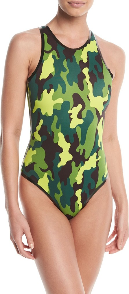 CARDO Paris Cardorider Camo-Print One-Piece Swimsuit