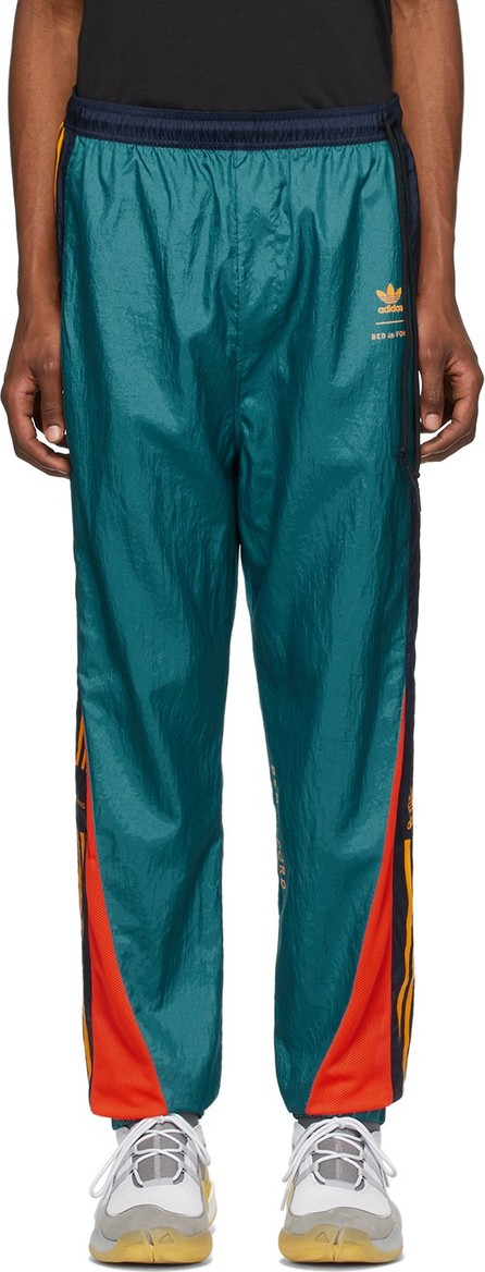BED J.W. FORD Green & Multicolor adidas Originals Edition Track Pants