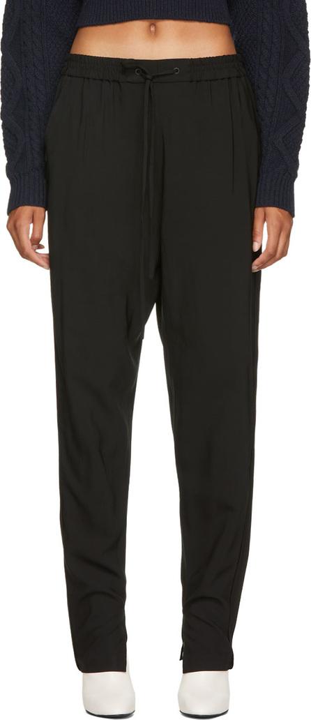 3.1 Phillip Lim Black Suiting Track Pants