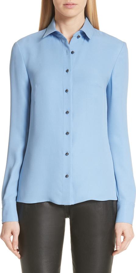 St. John Silk Georgette Shirt