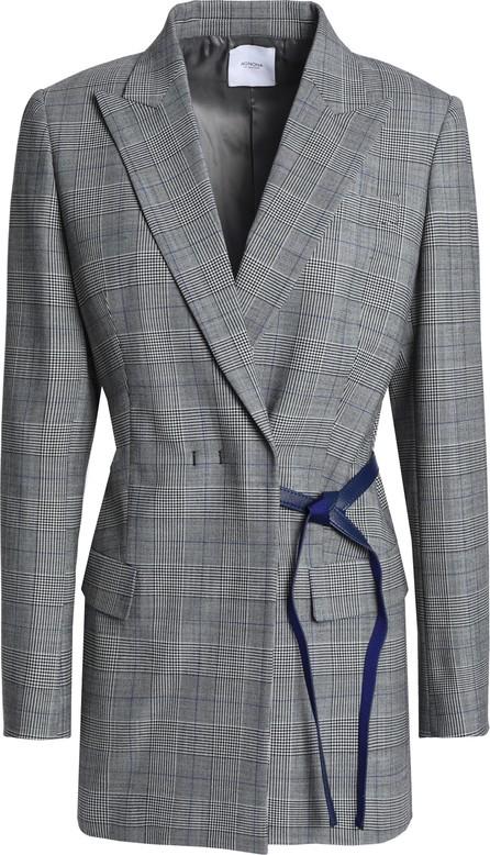 Agnona Prince of Wales checked jacquard blazer