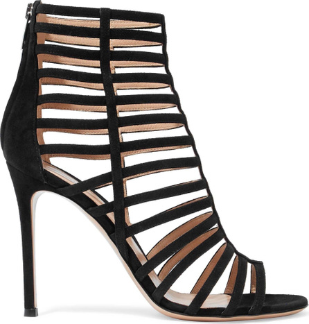 Gianvito Rossi Roxy cutout suede ankle boots