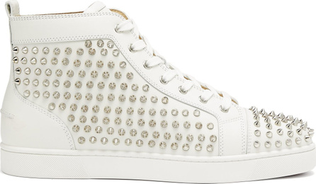 Christian Louboutin Louis studded leather trainers