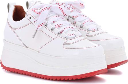 Ganni Exclusive to mytheresa.com – Edel patent leather sneakers
