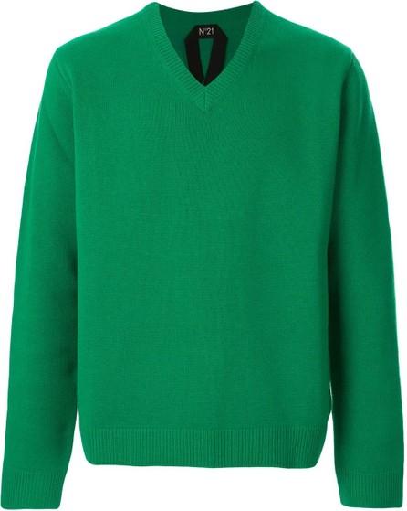 Nº21 Boxy v-neck jumper