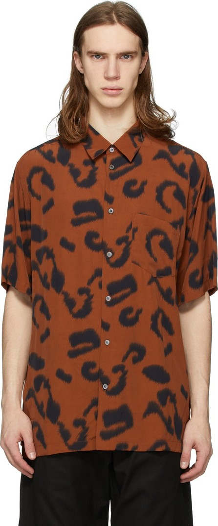 Stella McCartney Orange & Black Ricardo Shirt