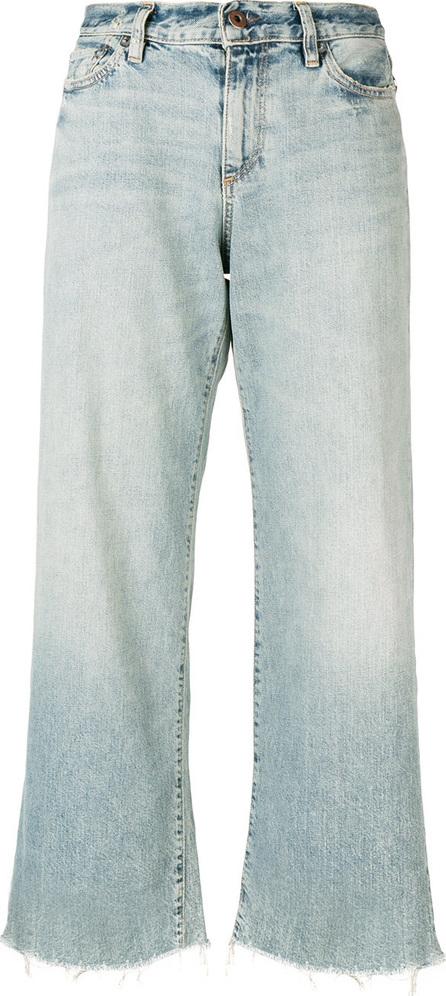 Simon Miller Wide-legged cropped jeans