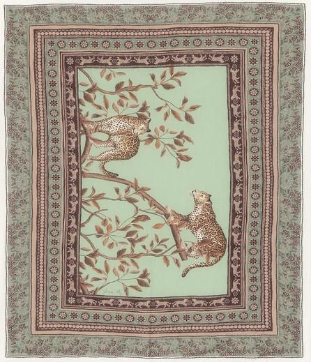 Johanna Ortiz Welcome To The Jungle cotton sarong