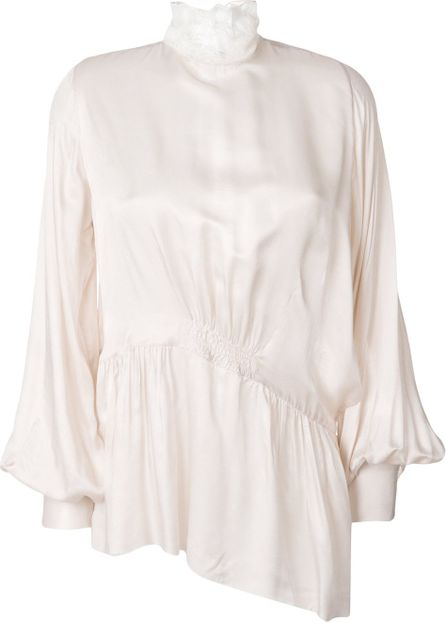 Ann Demeulemeester flared fitted blouse