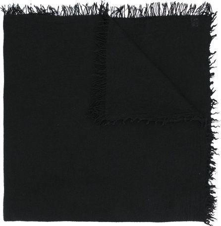 Faliero Sarti oversized fringed scarf