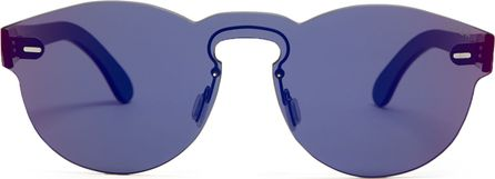 RetroSuperFuture Tuttolente Paloma Infared round-frame sunglasses
