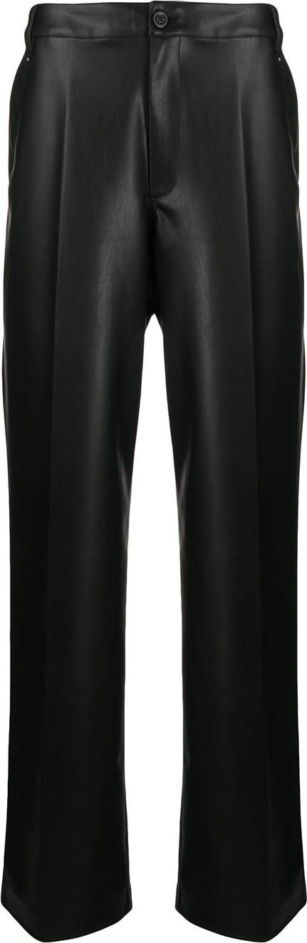 Rick Owens DRKSHDW High-rise wide leg trousers