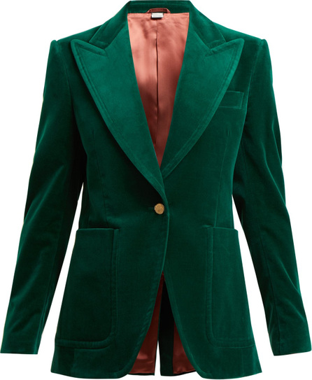 Gucci Tailored velvet jacket