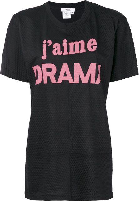 Area J'aime Drama perforated T-shirt