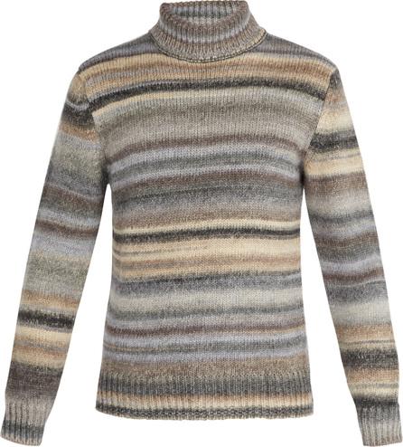 Altea Striped roll-neck sweater