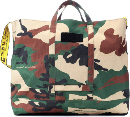 Off White Camouflage shopper