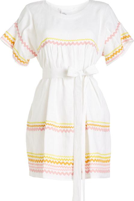 Lisa Marie Fernandez Fiesta Ric Rac Linen Dress