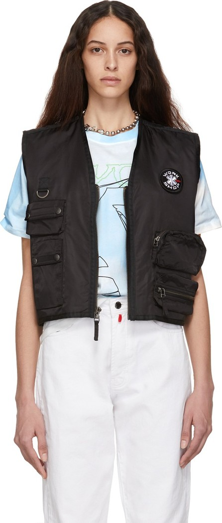 032c Black Cosmic Workshop Pocket Vest